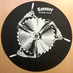 slipmat-Coroner-no-more-color-homemade