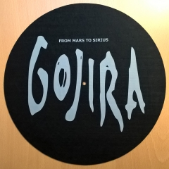 slipmat-Gojira-from-mars-to-sirius-homemade