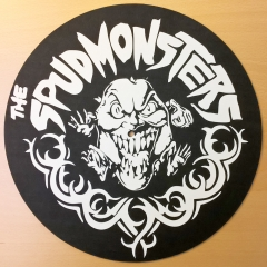 slipmat-The-Spudmonsters-logo-homemade